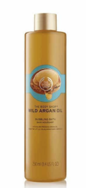 Wild Argan Oil bubble bath (THE BODY SHOP)