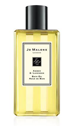 Amber & Lavender bath oil (JO MALONE)